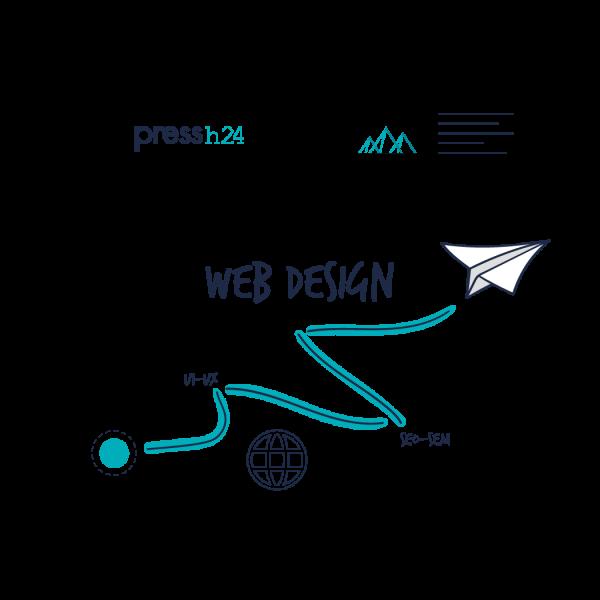 Grafiche-sito-pressh24-web-design